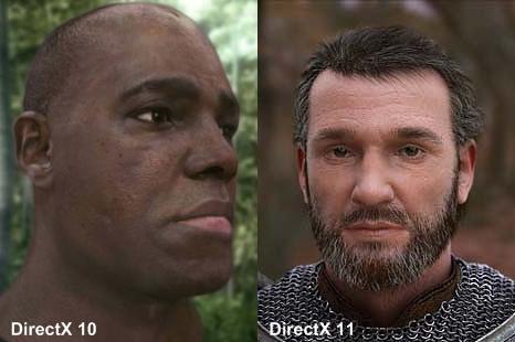 Comparação de modelagem entre DX10 e DX11