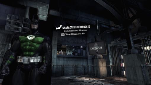 Batman versão Lanterna Verde