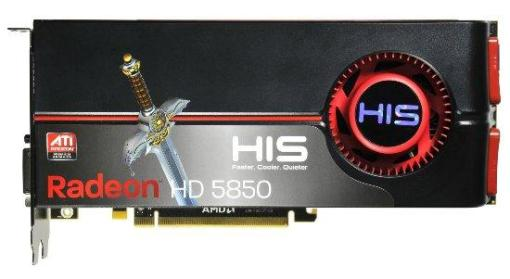"HD5870 da HIS. Bonita, mas a ""espadinha"" é completamente dispensavel."