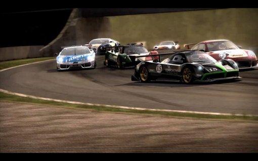 Porsche GT3 RS, Lamborghini Murciélago, Bugatti Veyron e Pagani Zonda são alguns dos super-carros disponíveis.