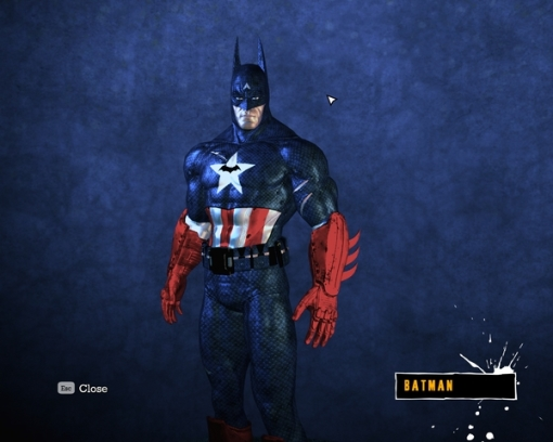 Batman, ou seria Capitão América chifrudo?