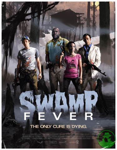 Uma das 5 campanhas. Swap Fever, ambientada em um pantano do sudoeste norte americano.