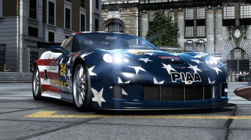 "Corvette ""pouco"" nacionalista."
