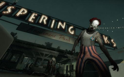 """Dark Carnival. Pra quem tem medo de parques de diversão e de palhaços, é um """"prato cheio""""."""